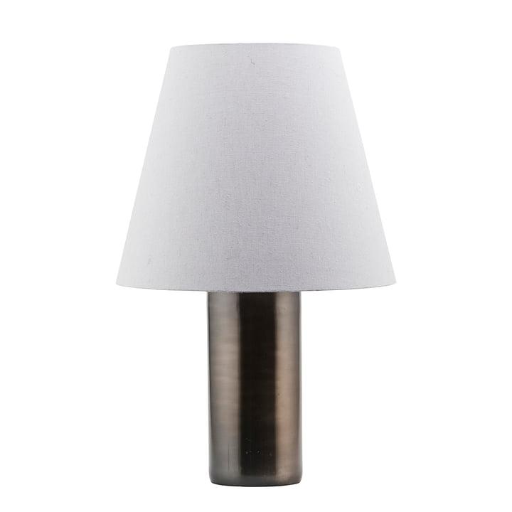 La lampe de table Bakora H 52 x Ø 17 cm, métal antique par House Doctor