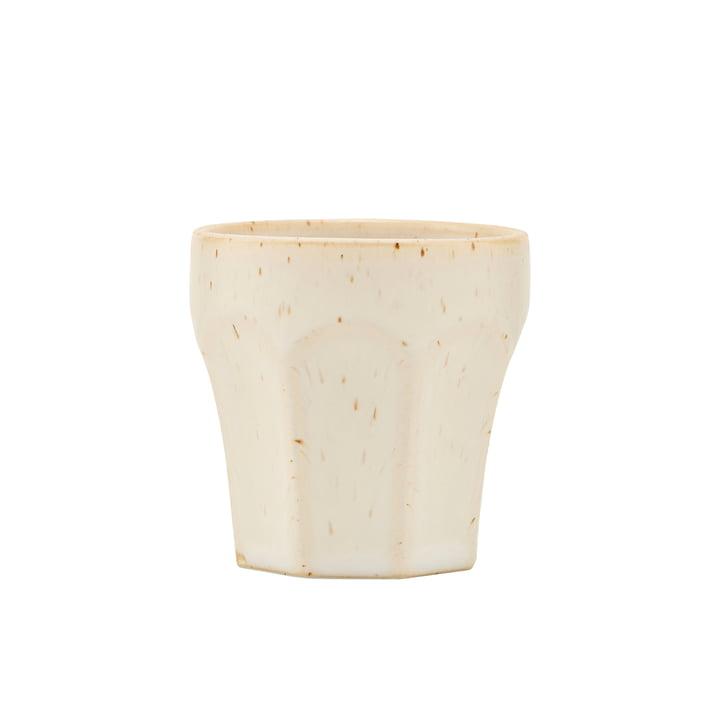 Mug Berica, H 63 mm, beige par House Doctor