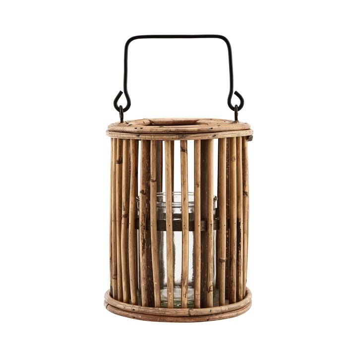 La lanterne Ova, H 18 cm, naturelle par House Doctor