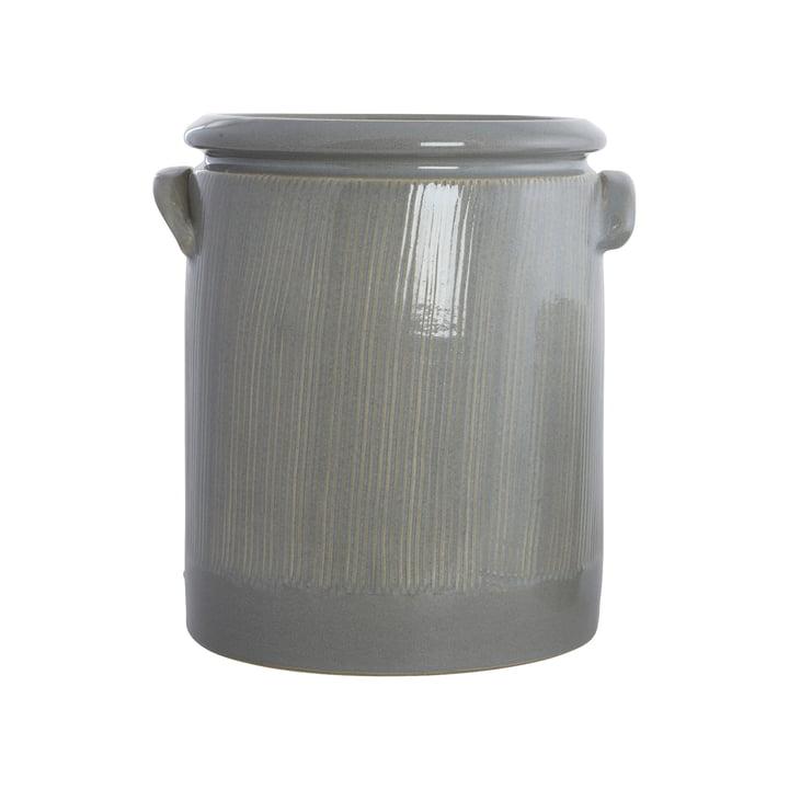 Pot de fleurs The Pottery, Ø 19 x H 24 cm, gris clair par House Doctor