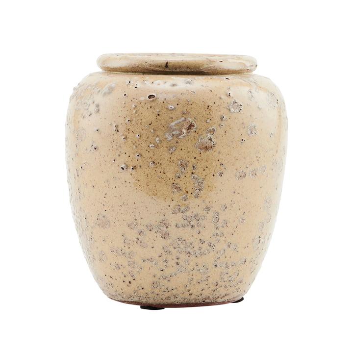 Vase The Pale, Ø 14 x H 16 cm, vert clair par House Doctor