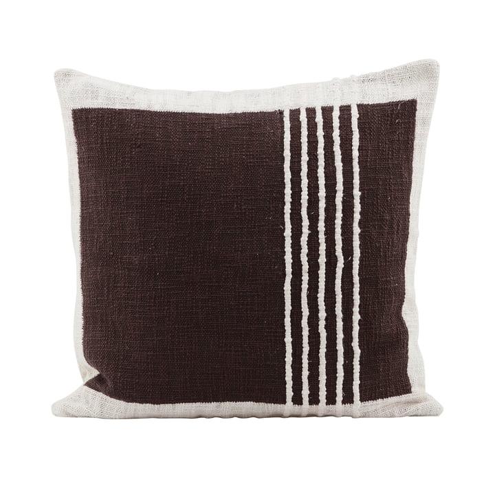 Yarn oreiller The Yarn, marron par House Doctor