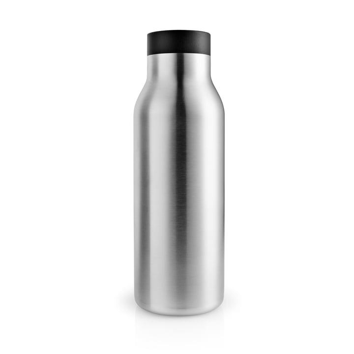 La bouteille thermos Urban 0,5 l, acier inoxydable / noir par Eva Solo