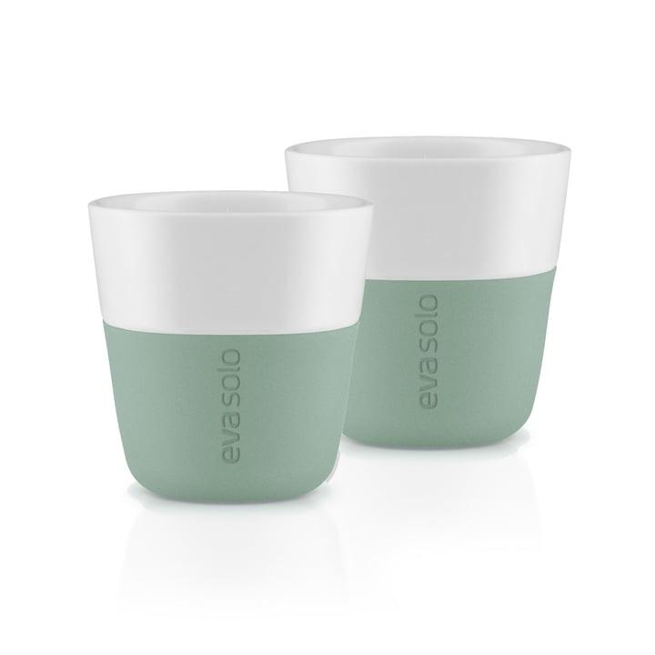 Les tasses à expresso (lot de 2), faded green par Eva Solo