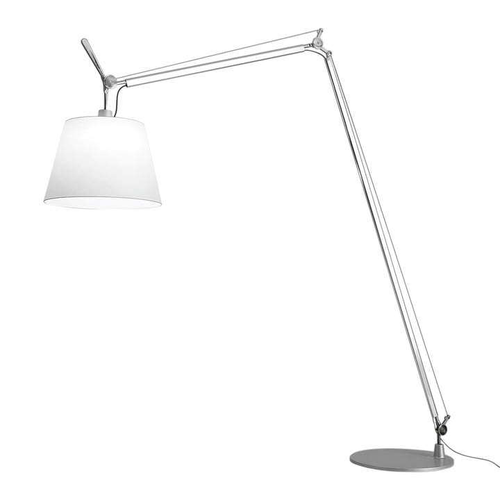 Lampadaire LED Tolomeo Maxi d' Artemide en aluminium