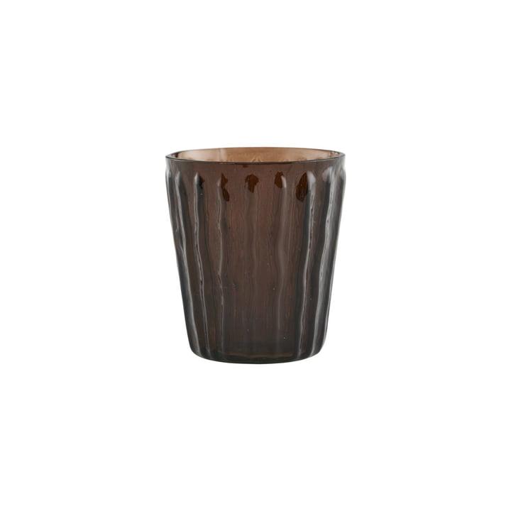 Photophore Tinka, Ø 7 cm, marron par House Doctor