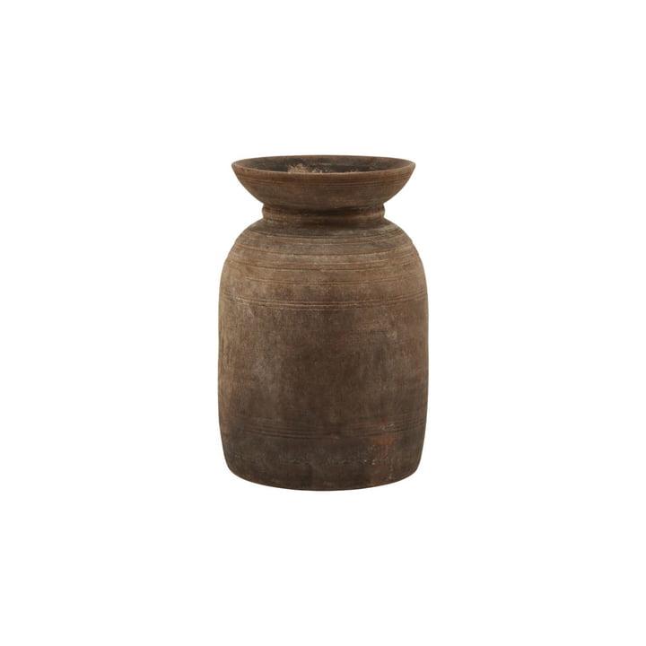 Vase Minu, Ø 17 x H 28 cm, marron par House Doctor