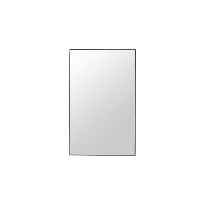 Miroir avec cadre, brut, 50 x 80 cm, cadre noir par House Doctor