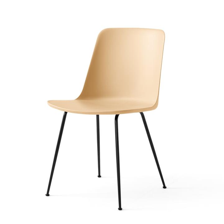 La Rely Chair FW6, beige sable / noir par & tradition