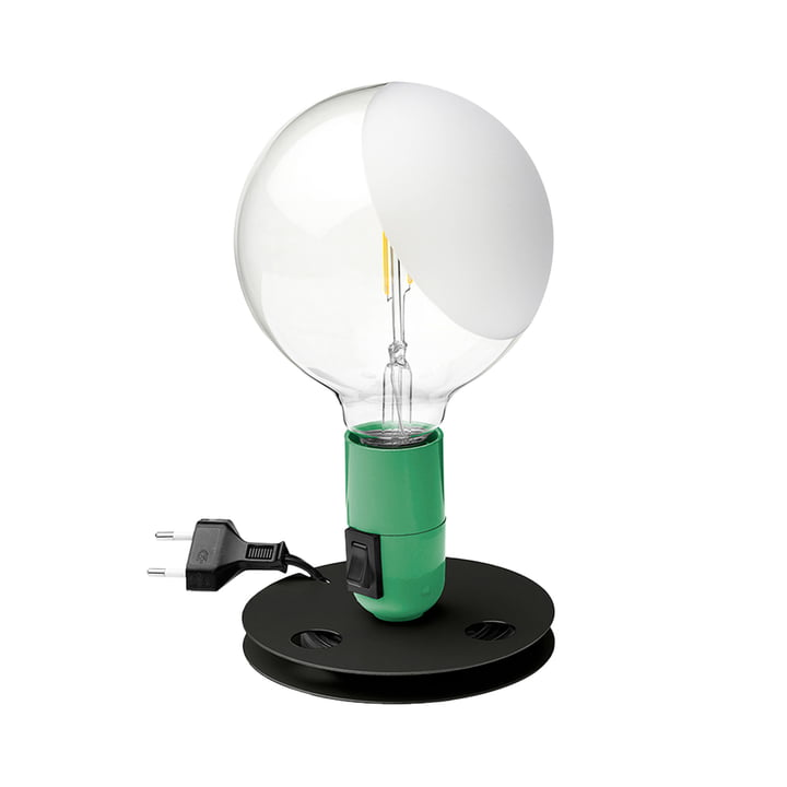 Lampe de table LED Lampadina, verte par Flos