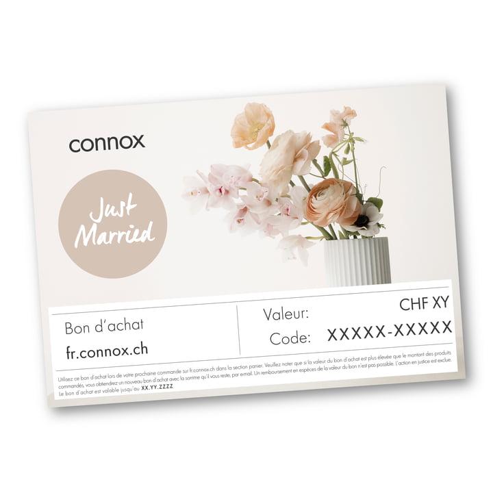 Bon d'achat : Mariage