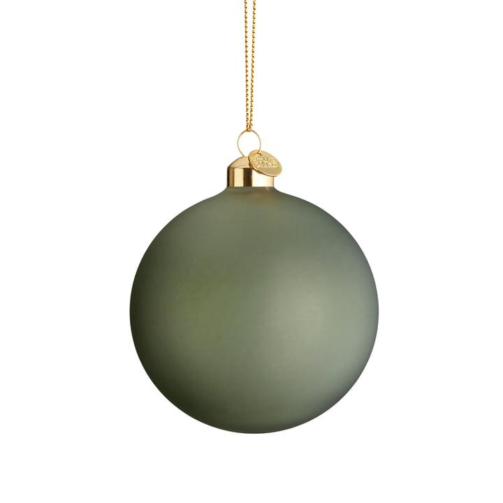 La boule de Noël souvenir, Ø 8 cm, vert de Holmegaard