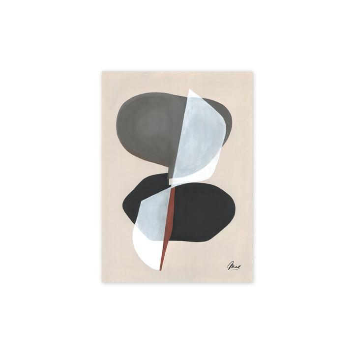 L'affiche Composition 01, 30 x 40 cm de Paper Collective