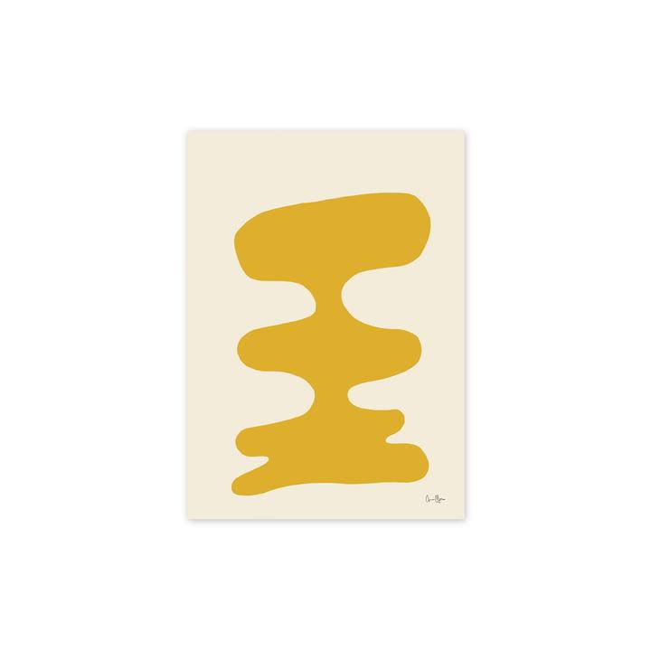 L' Soft Yellow affiche, 30 x 40 cm de Paper Collective