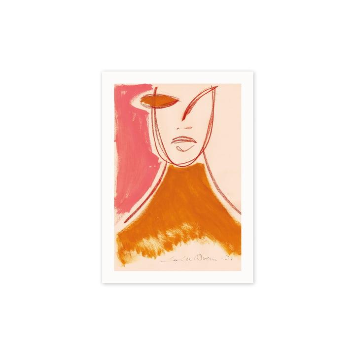 L' Pink Portrait affiche, 30 x 40 cm de Paper Collective