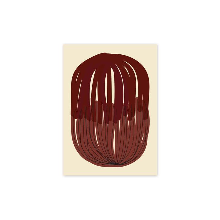 L'affiche Stacked Lines 01, 30 x 40 cm de Paper Collective