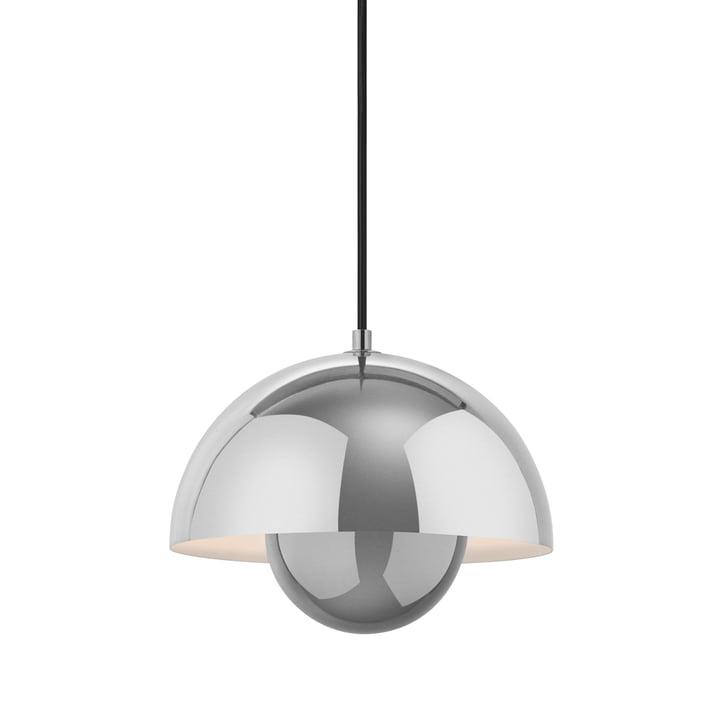 FlowerPot lampe à suspension VP1 de & Tradition en acier inoxydable poli