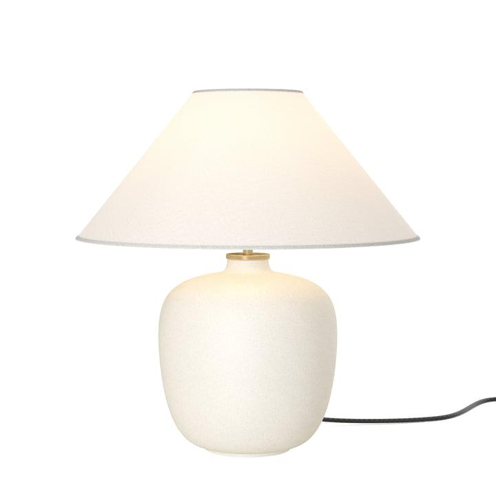 La Torso lampe de table, sable / blanc cassé de Menu