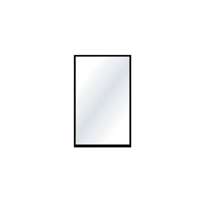 Le petit miroir mural de Nichba Design en noir