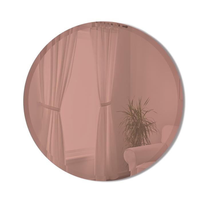 Le miroir Hub Bevy de Umbra en cuivre