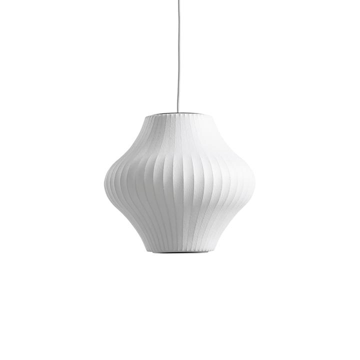 Le Nelson Pear Bubble Lampe à suspension S, off white de Hay