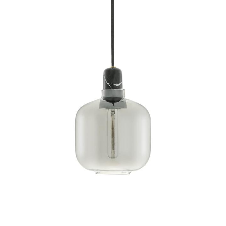Amp Pendentif lumière petit de Normann Copenhagen en Fumée / Noir