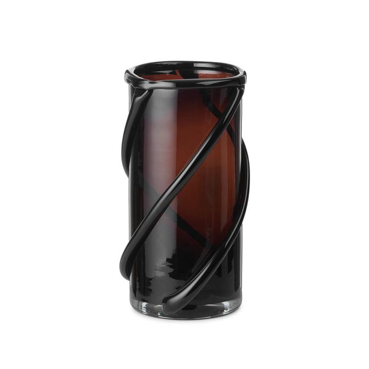 Le petit vase Entwine by ferm Vivre dans l'ambre foncé