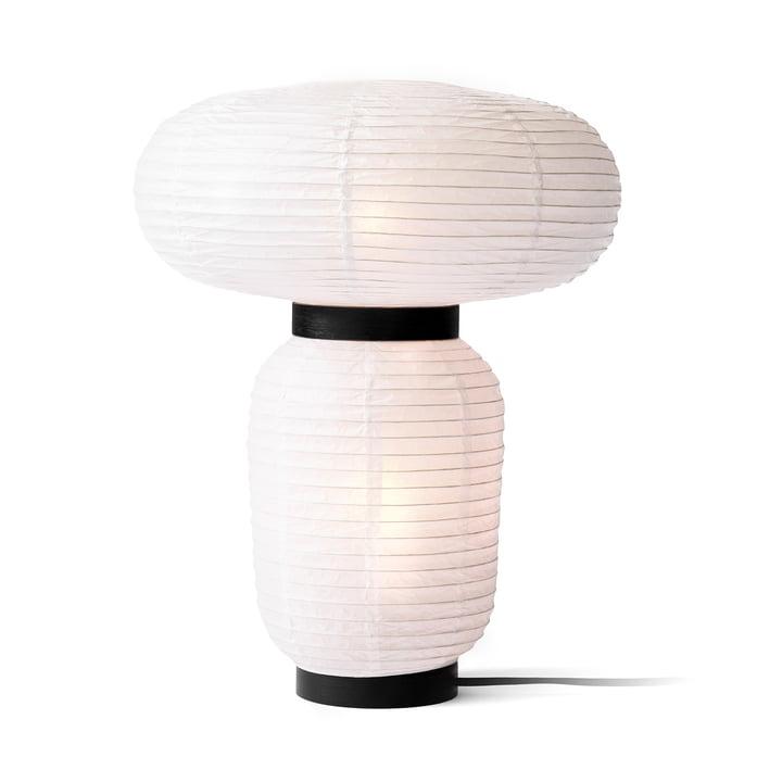 & tradition - Formakami JH18 lampe de table, Ø 38 x H 50 cm en ivoire / noir