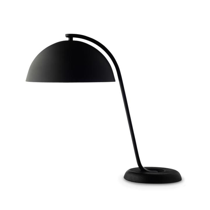 Hay - Cloche Lampe de table en noir