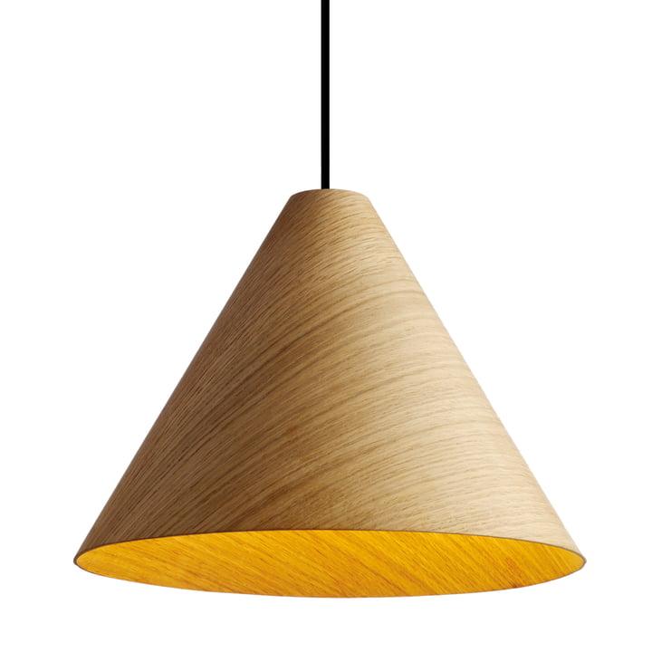 La suspension lumineuse 30 Degree grand modèle en naturel de Hay