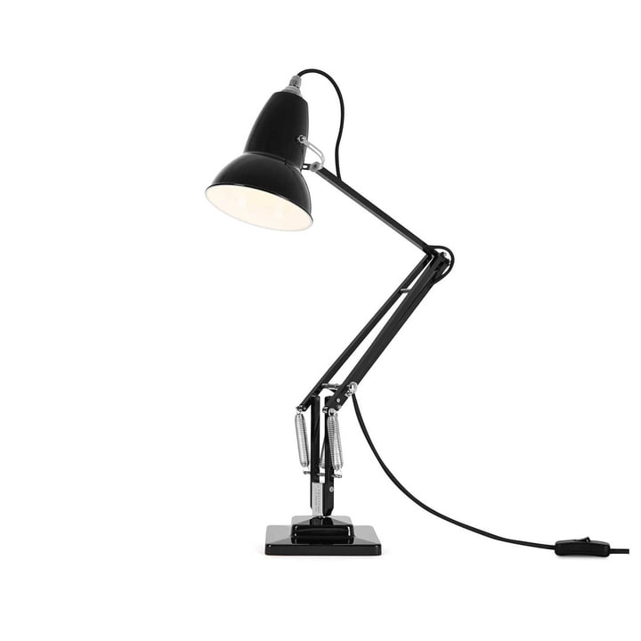 Original 1227 Câble de lampe de table noir Jet Black by Angelpoise