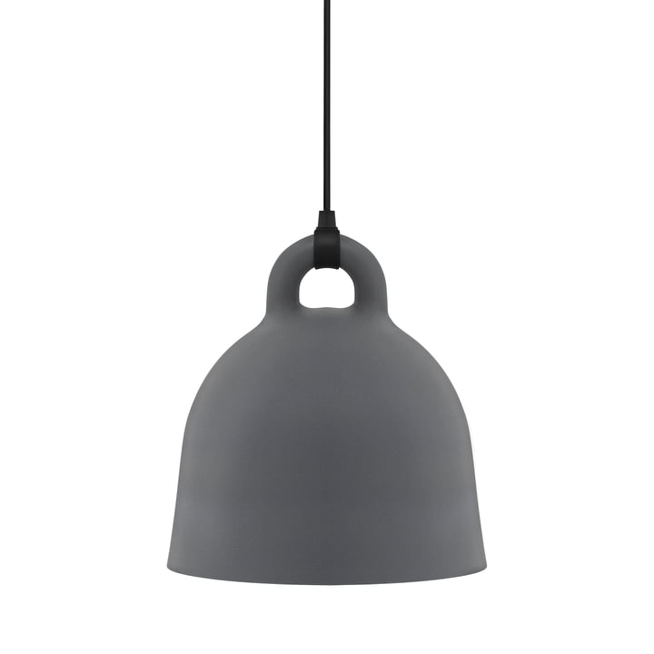 Suspension Bell de Normann Copenhagen en gris (medium)