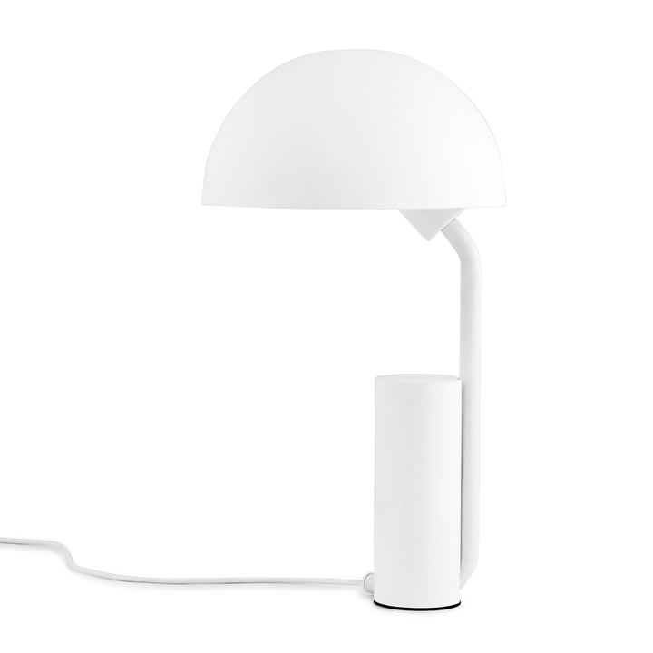 Cap Lampe de table de Normann Copenhagen en blanc