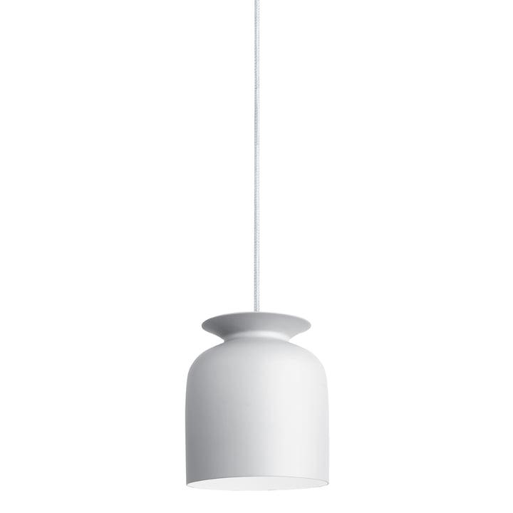 Gubi - Suspension lumineuse Ronde, Ø 20cm, blanc