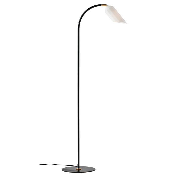 Le lampadaire Pliverré de Le Klint en noir / blanc