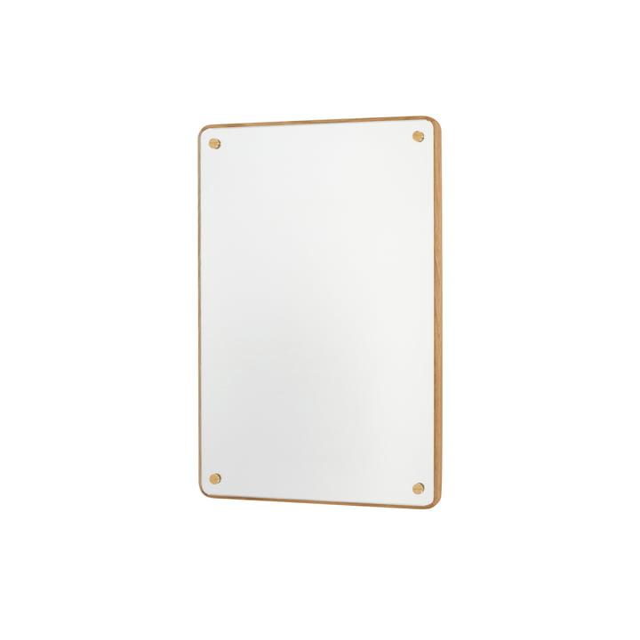 RM-1 Rectangular Miroir H 58 cm, chêne huilé par Frama