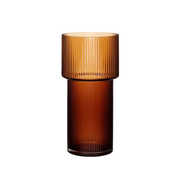 Le vase de Hübsch Interior , ambre