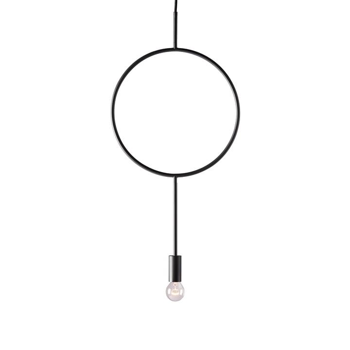 Le luminaire suspendu Circle de Northern Northern en gris foncé mat