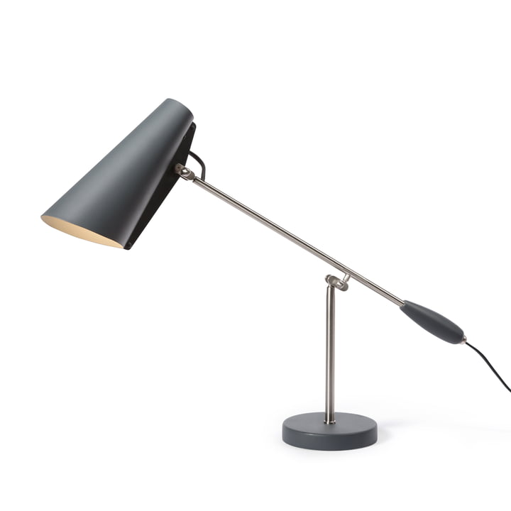 Le Northern - Birdy Lampe de table en gris / métallique