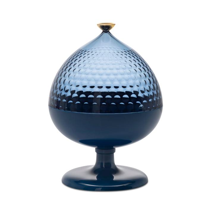 Pumo Verre de rangement, Ø 21 cm, bleu / bleu clair de Kartell