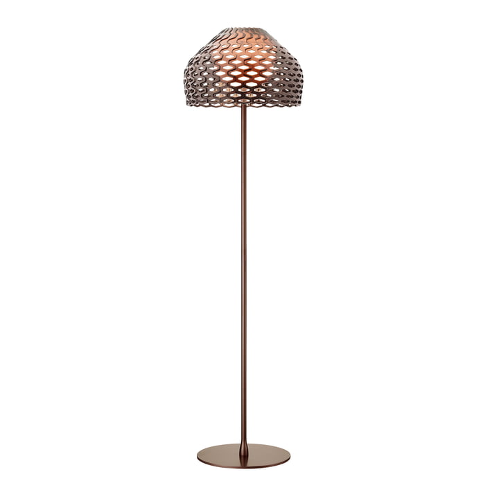 Le lampadaire Tatou de Flos en ocre - gris