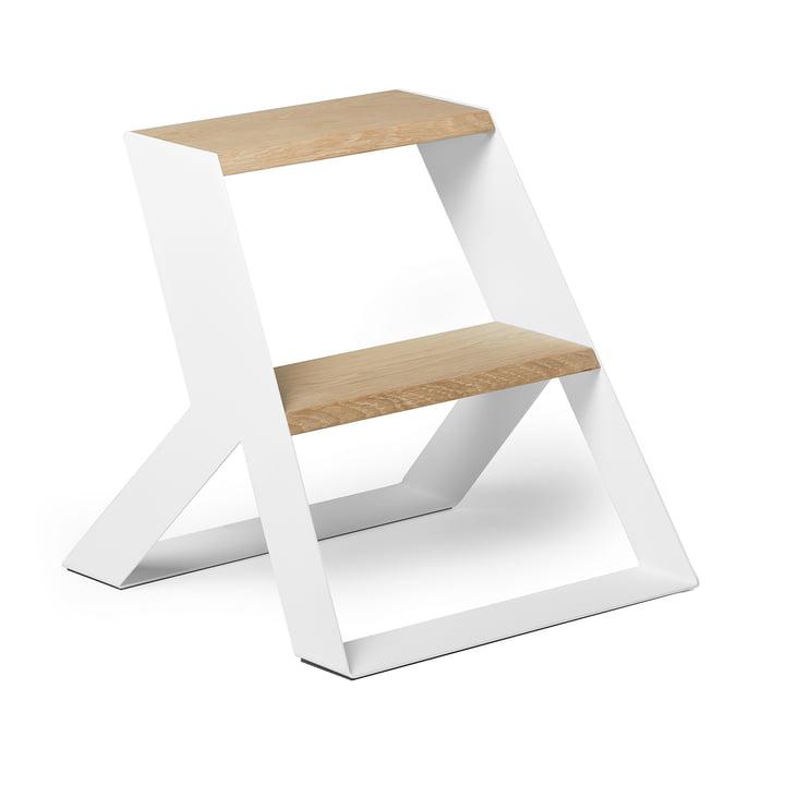 Split Step Escalier de Frederik Roijé en chêne / blanc