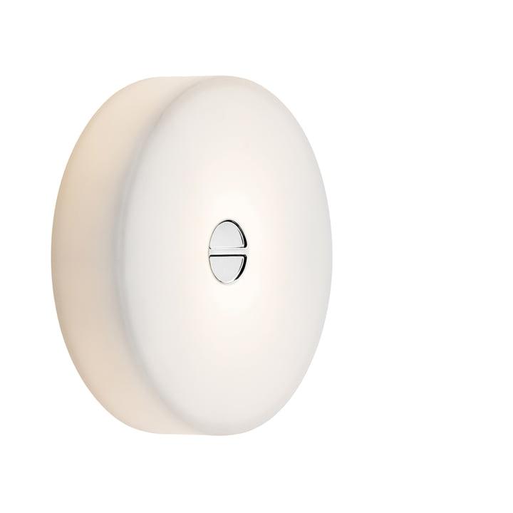 Flos - Mini Button Plafonnier, blanc