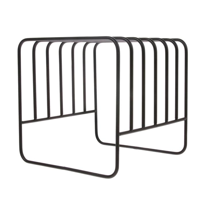 Plate Rack Stand de drainage, noir par HKliving