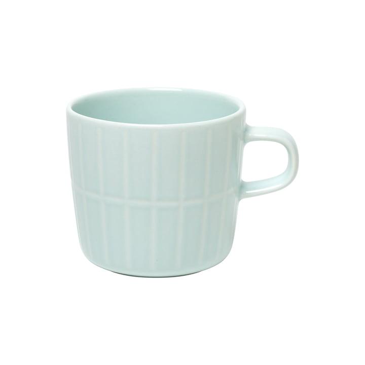 La tasse Tiiliskivi avec anse de Marimekko à la menthe, 200 ml