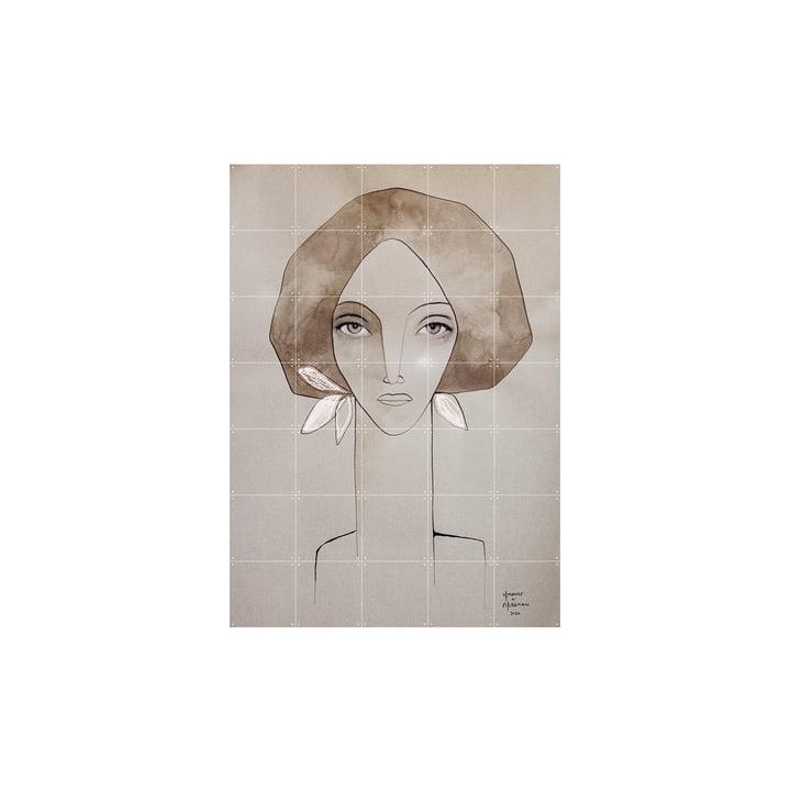 La fresque de Olive tirée de IXXI , 100 x 140 cm