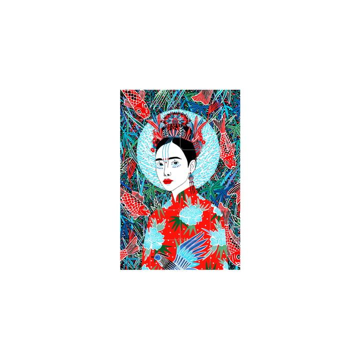 La murale du Japon de IXXI , 80 x 120 cm