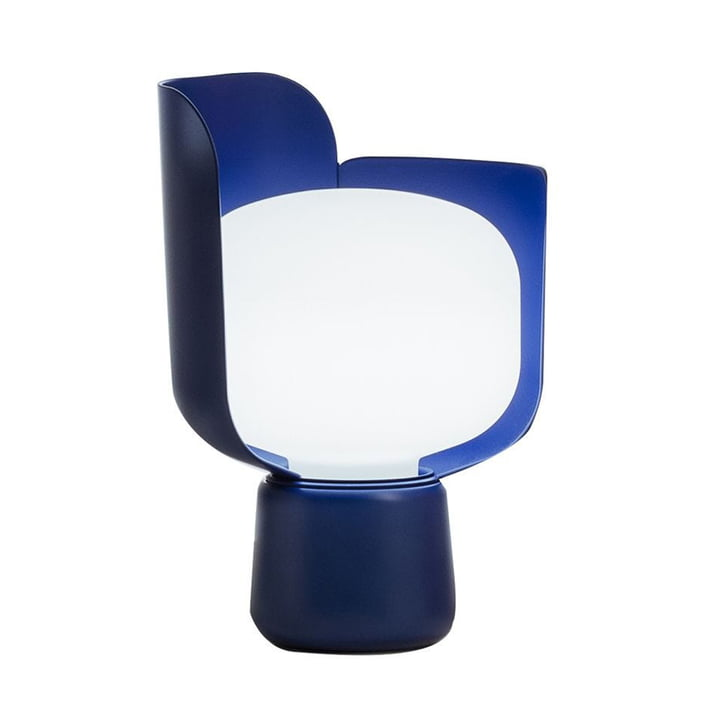 Le Blom Lampe de table de FontanaArte en bleu