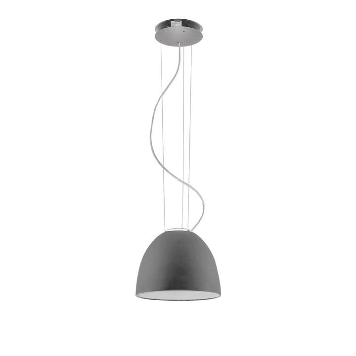 Artemide - Artemide Nur Mini suspension, gris aluminium