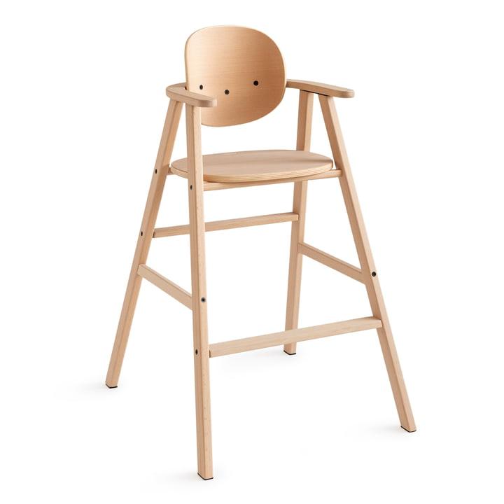 Growing Green Chaise pour enfants de Nobodinoz en hêtre